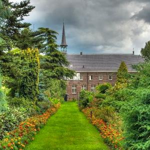 Klooster stilte tuin